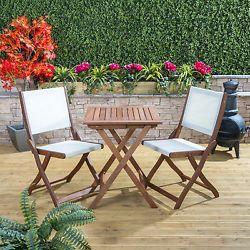 97df0a7da2a1 Alfresia Garden Patio Sienna Wooden Bistro Set For 2 - Choice of Chairs