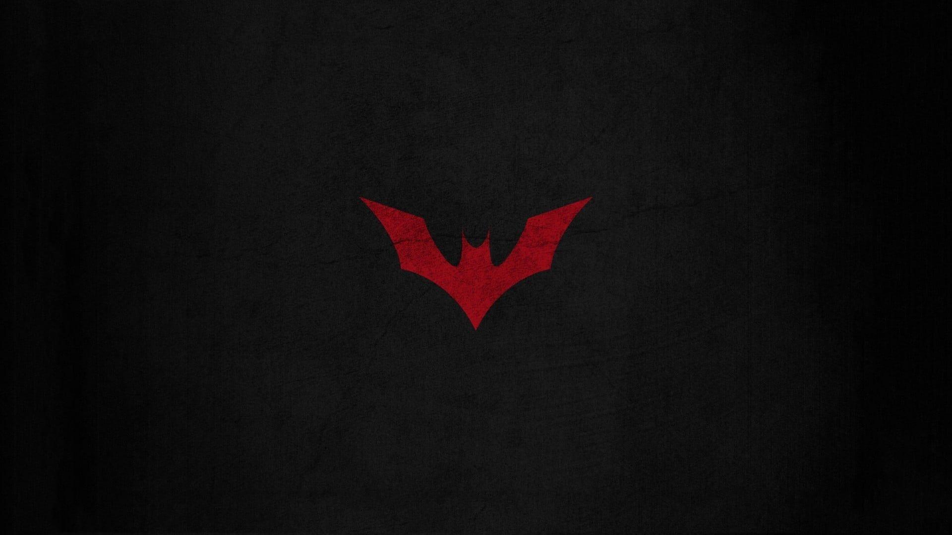 Red Batman Logo Batman Logo Dc Comics 1080p Wallpaper Hdwallpaper Desktop Batman Wallpaper Batman Wallpapers Hd Batman Wallpaper