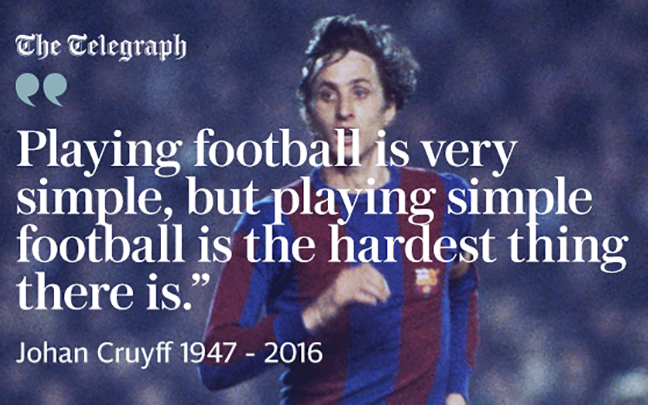 Citaten Johan Cruijff : Johan cruyffs greatest quotes football historique ⚽ football