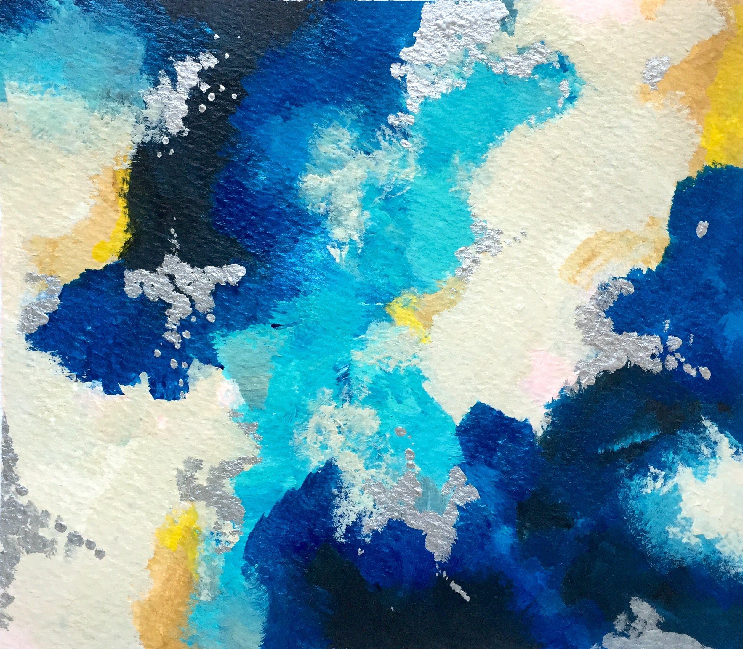Cómo empezar una pintura Abstracta | cuadros | Pinterest | Pintura ...