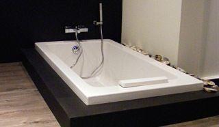 Afmetingen badkamer enkele wastafel à cm breed cm diep