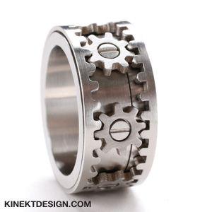 Fiddle Wedding Ring