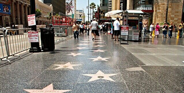 Street of Fame Hall, Hollywood
