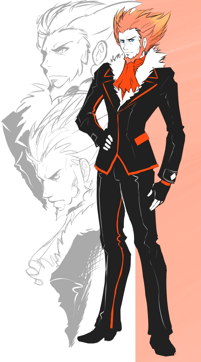 Lysandre And Sycamore Pokemon