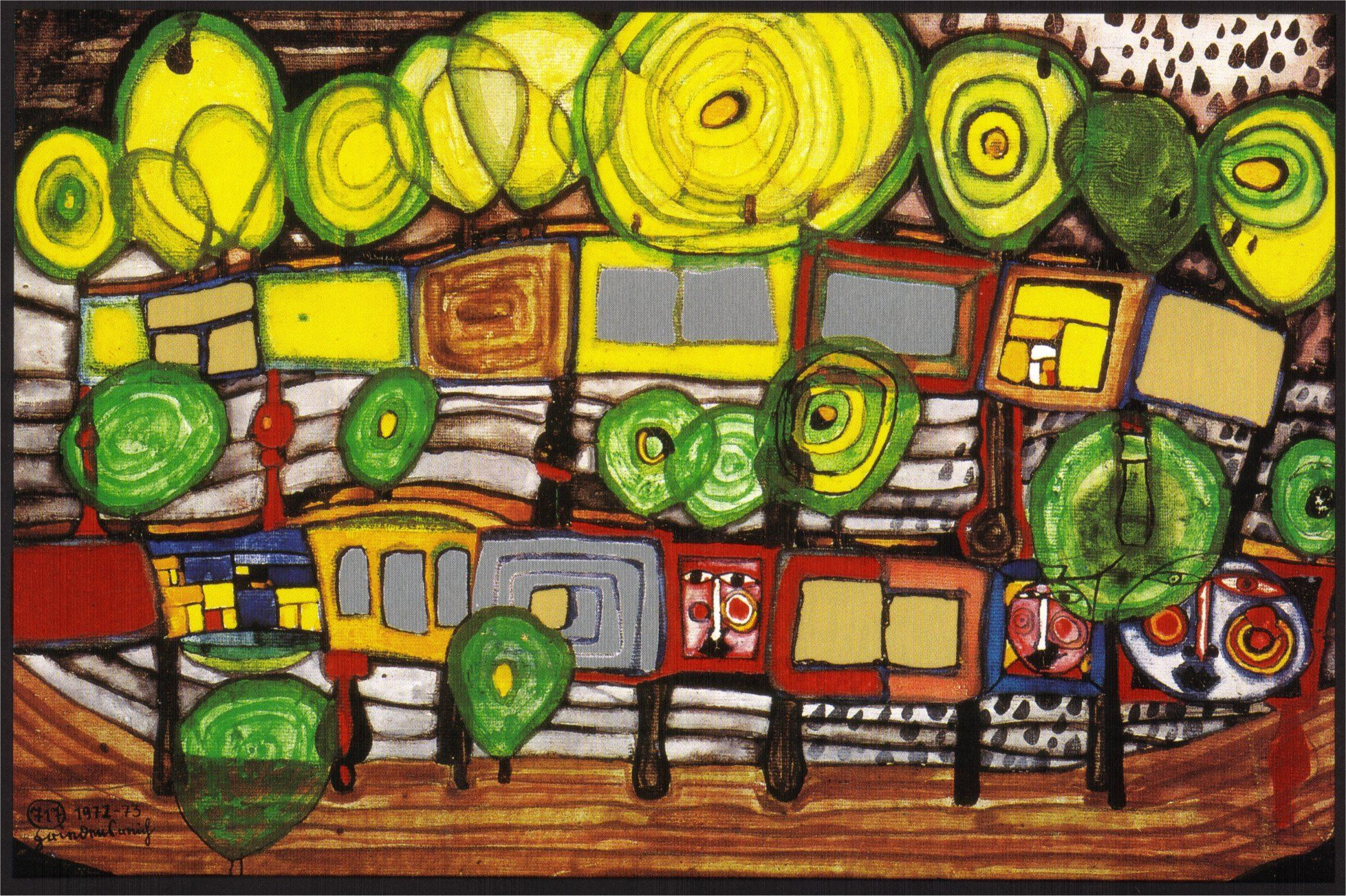 friedensreich hundertwasser was a prominent figure in the art world because of its innovative. Black Bedroom Furniture Sets. Home Design Ideas