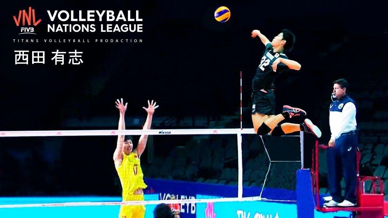 Yuji Nishida 19 Years Old Monster of the Vertical Jump
