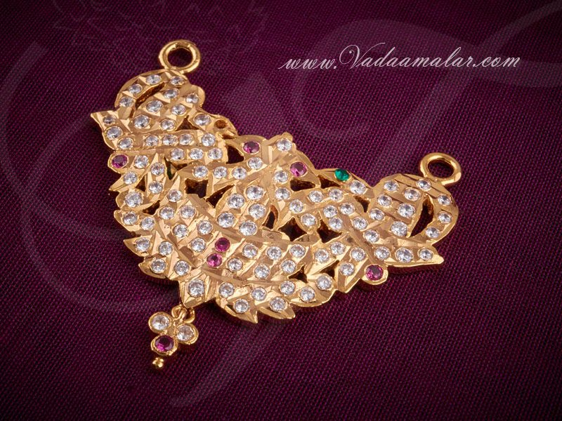 Best Indian Gold Peacock Pendant Designs Images - Jewelry ...