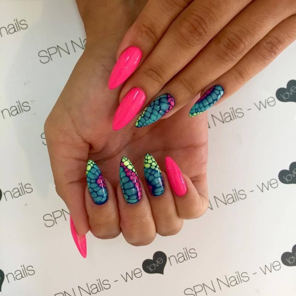 Pin by Sanja on summer nails | Pinterest | Lemon nails, Nail spa and ...