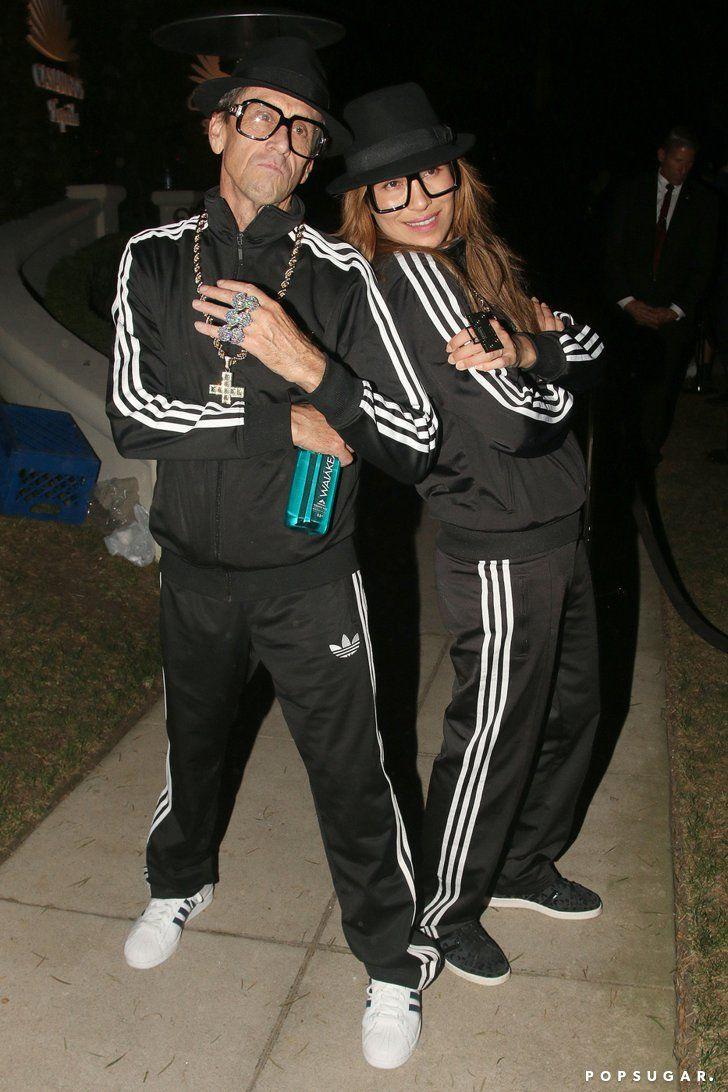 Brian Grazer As A Member Of Run Dmc Celebrity Couple