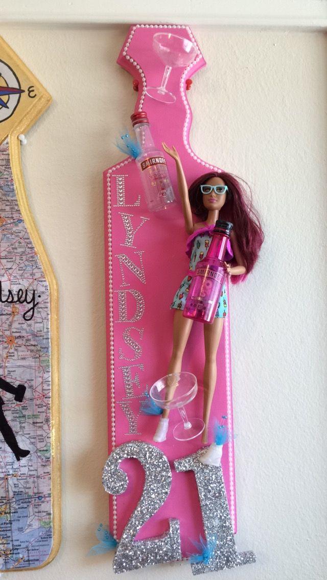 Pin By Stephanie Samuel On Birthdays Sorority Crafts 21st Birthday Paddle Sorority Paddles