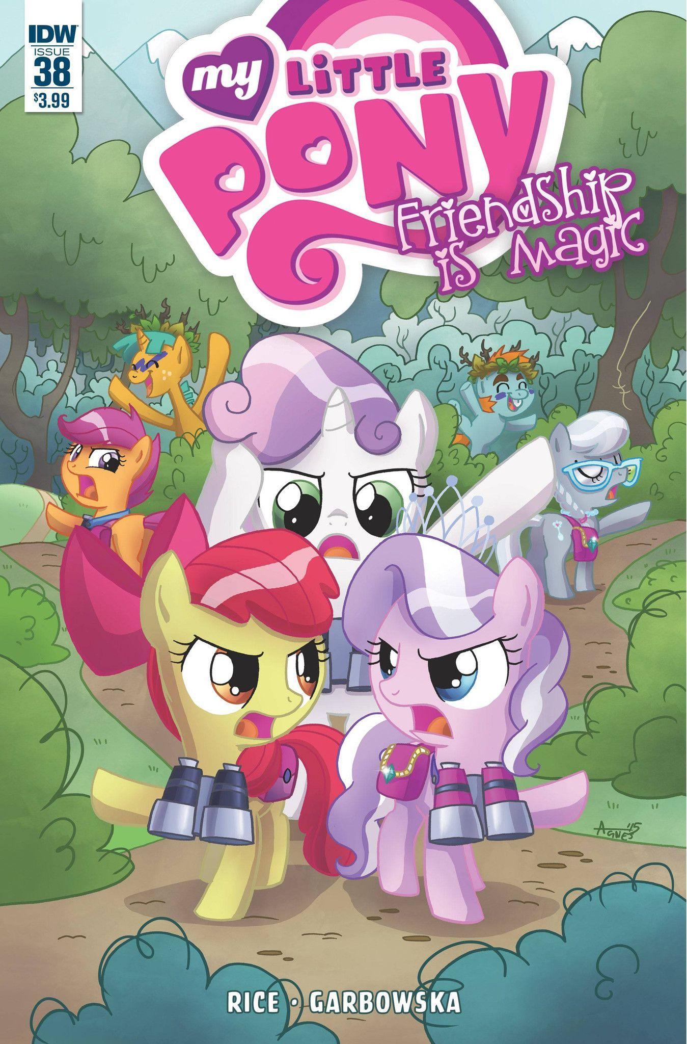 My Little Pony Friendship Is Magic (2012) Issue #38 | Kawaii, Cosas ...