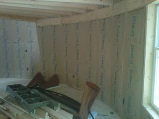 Wooden Panel Yurt High Density Rock Wool Insulation Its R 25 In A 2x6 Bay The Best You Can Get Out Of Ba Rock Wool Insulation Batt Insulation Wool Insulation