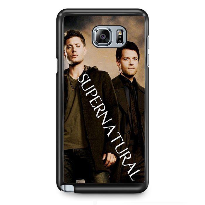 Supernatural Sam And Dean TATUM-10373 Samsung Phonecase Cover Samsung Galaxy Note 2 Note 3 Note 4 Note 5 Note Edge