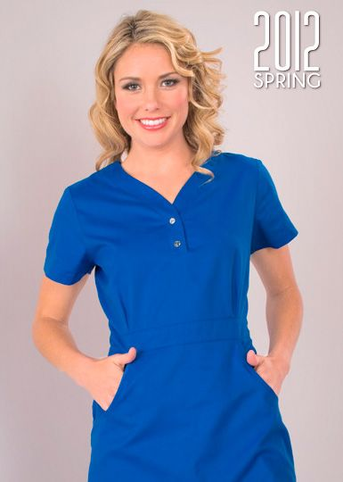 fbcc2eb9a6b 204 Stretch Mackenzie Top: 20 (Royal Blue) | Koi 2012 | Scrub tops ...
