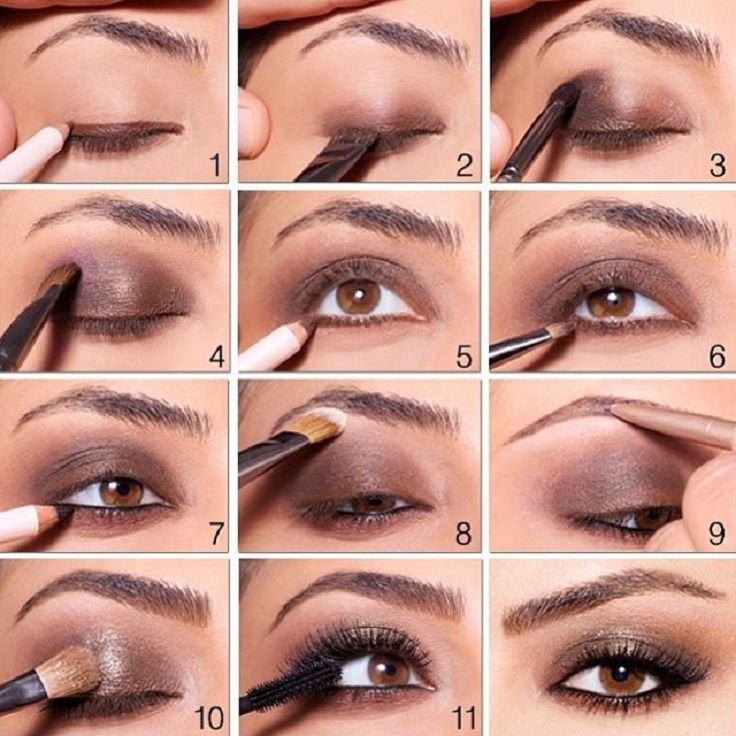 Top 10 Fall Brown Smoky Eye Tutorials | Smoky eye, Awesome and ...