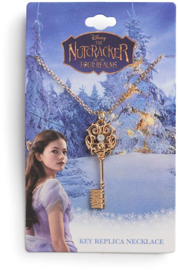 Metal Color: Light Yellow Gold Color, Length: 50cm Gabcus The Nutcracker and the Four Realms Necklace Key necklaces