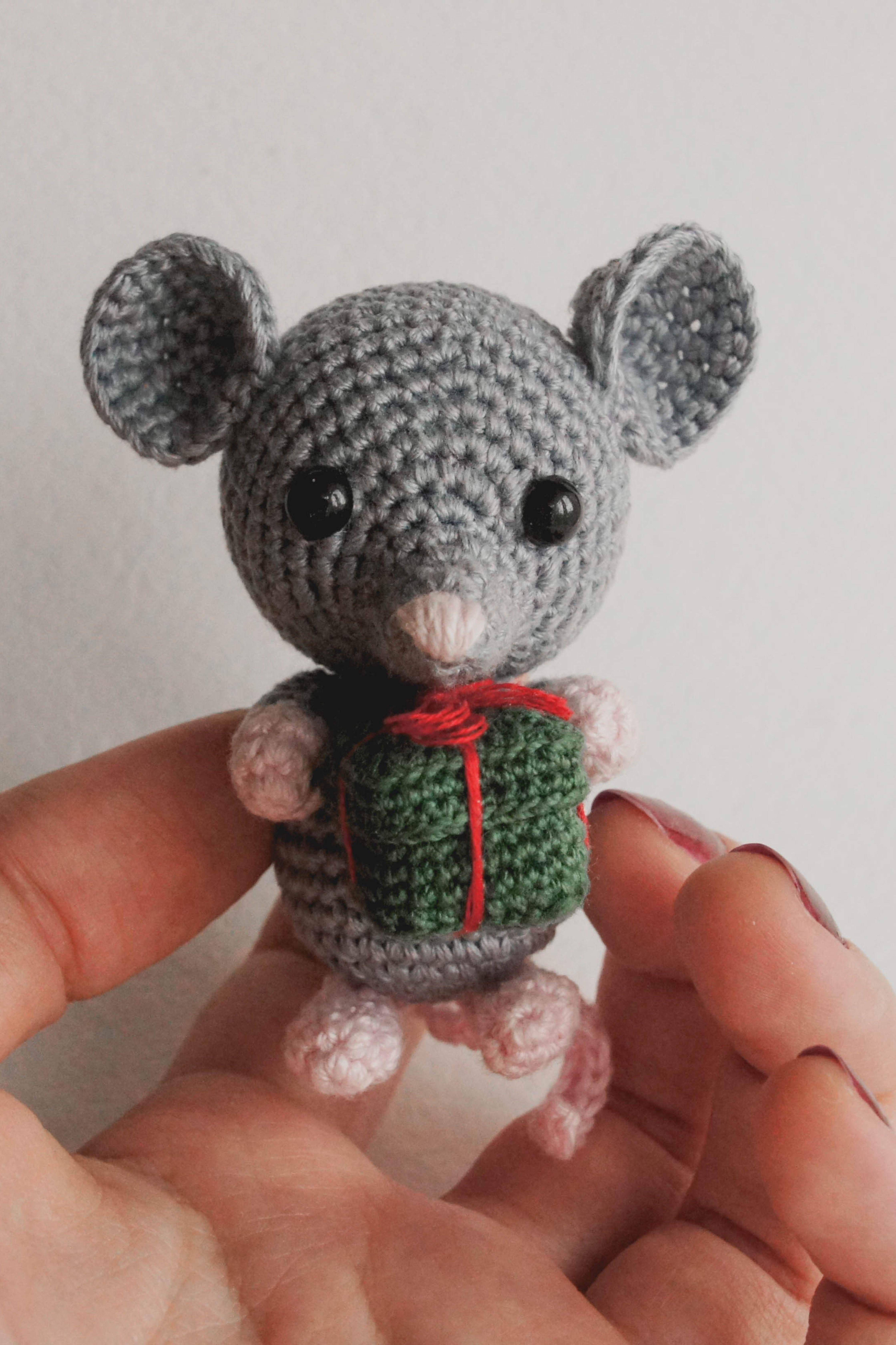 Crochet Tiny Mouse Amigurumi Free Patterns | Kostenlos amigurumi ... | 6714x4476