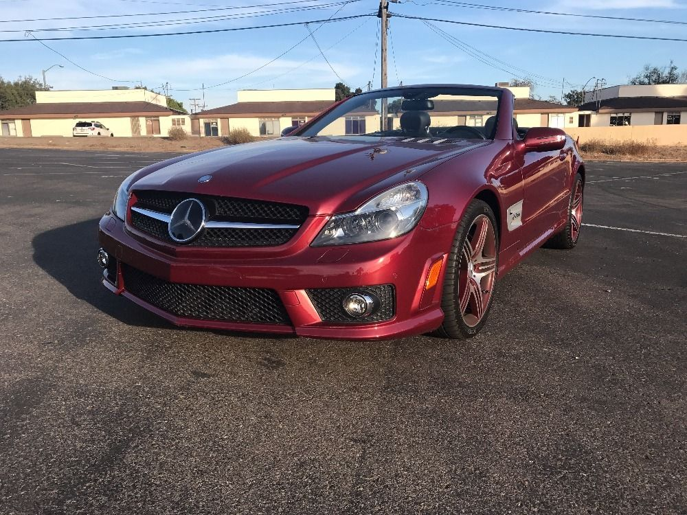 Cars for Sale Used 2009 MercedesBenz SL 63 AMG for sale