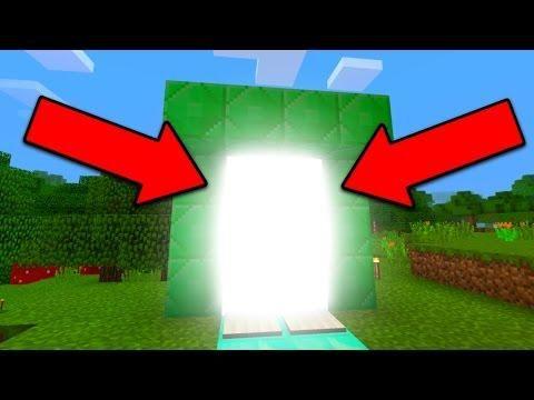 New Portal In Minecraft Pocket Edition 1 0 5 Minecraft Portal