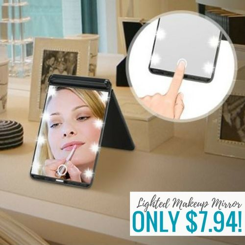 Hotlife Led Lighted Makeup Mirror Just