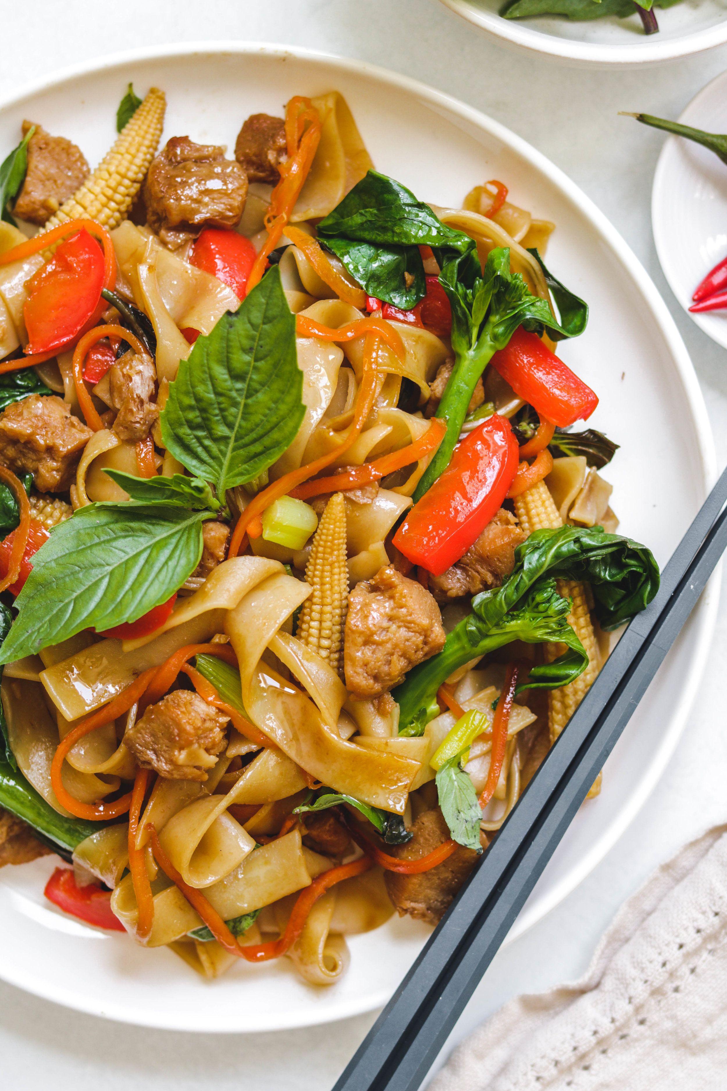 Recipe Drunken Noodles