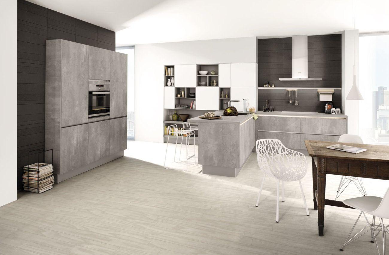 Betonküche, Küche Aus Beton, Betoninsel, Kochinsel, Kücheninsel, Insel,  Arbeitsplatte,