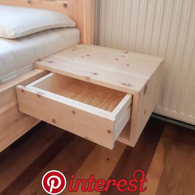 Practical Hanging Box Made Of Solid Pine Wood Through The Simple