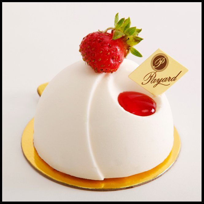 Francois Payard Strawberry Cheesecake Dome