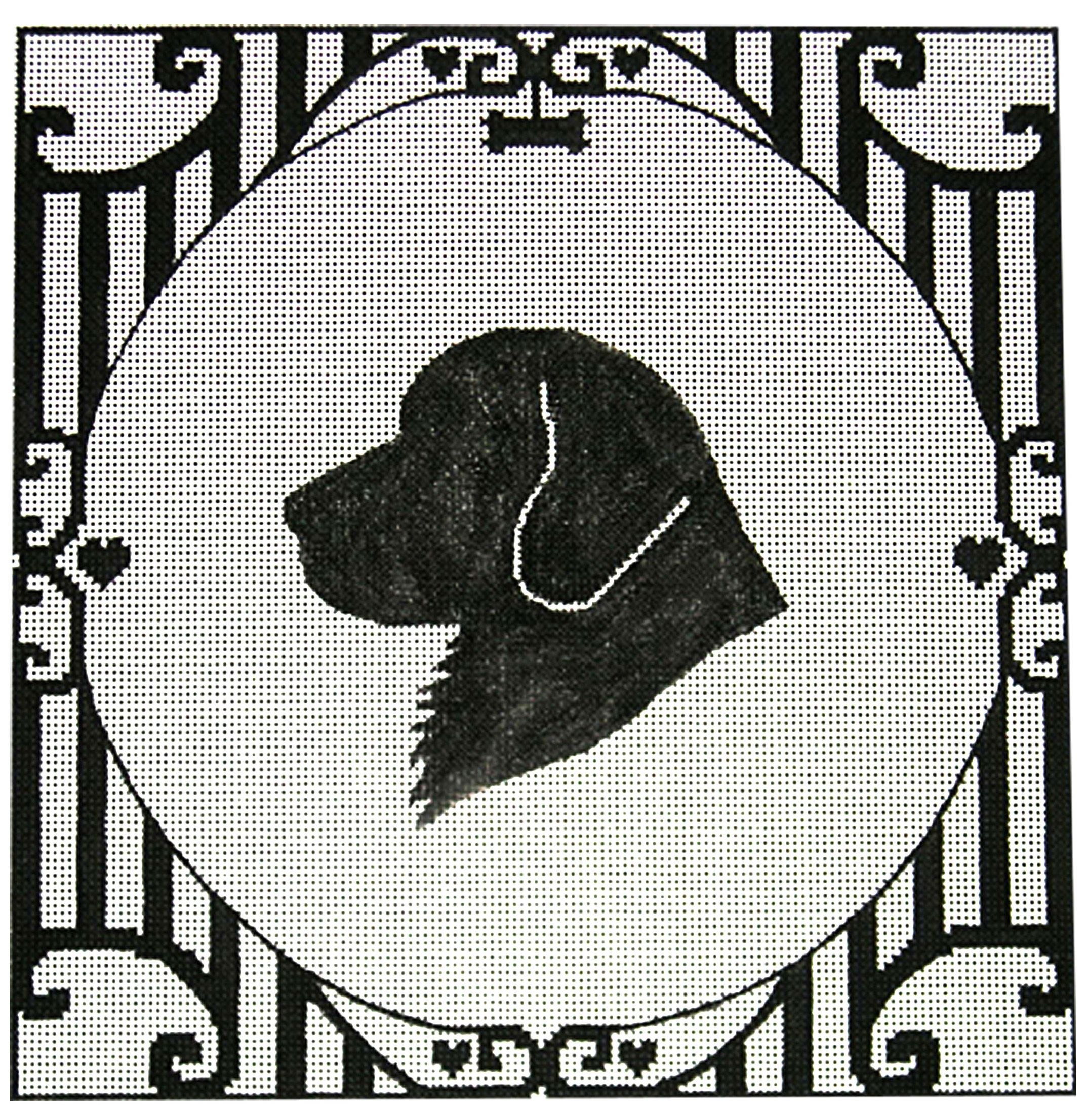 Pin On Animal Silhouette Needlepoint Collection