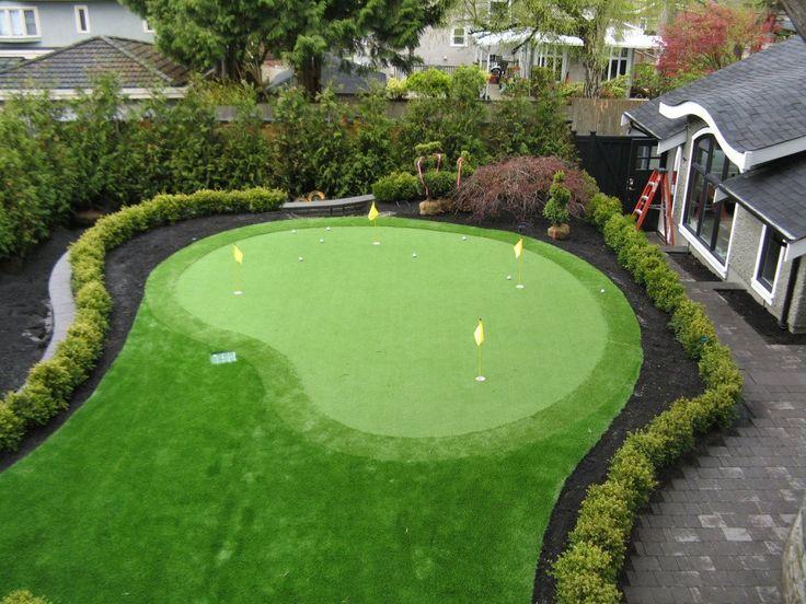 10' x 13' Putting Green Kit with Fringe | Backyard Putting ...