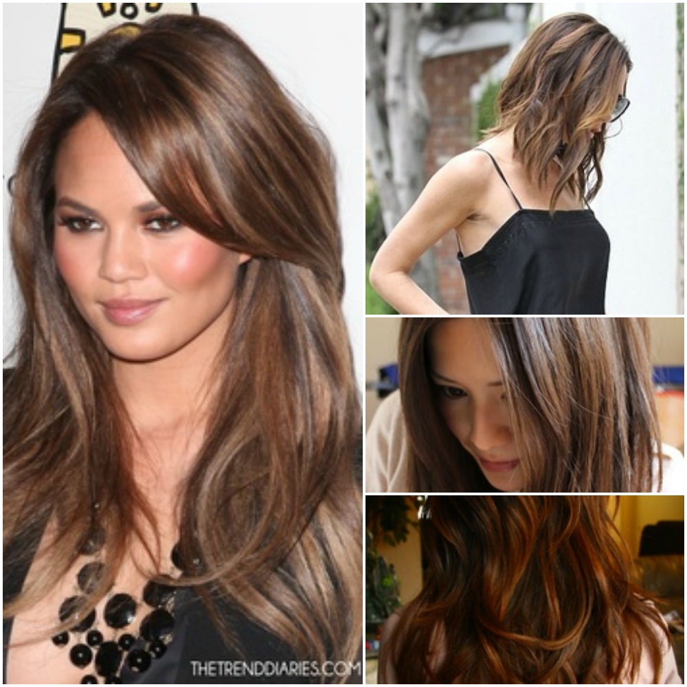 Brown Hair Subtle Highlights Google Search Hair Pinterest