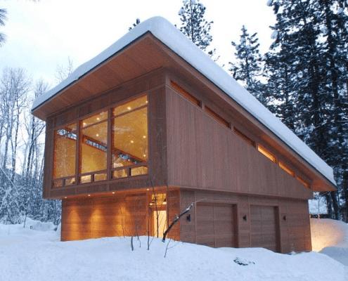 Проект гараж с мансардой | Надо попробовать | Pinterest | Cabin ...