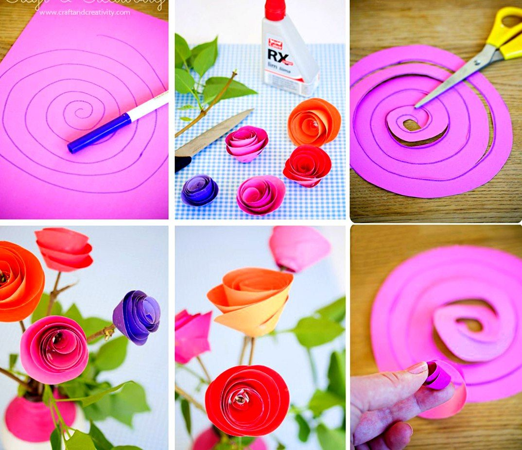 Крысы прикольная, как сделать цветок из бумаги своими руками для открытки