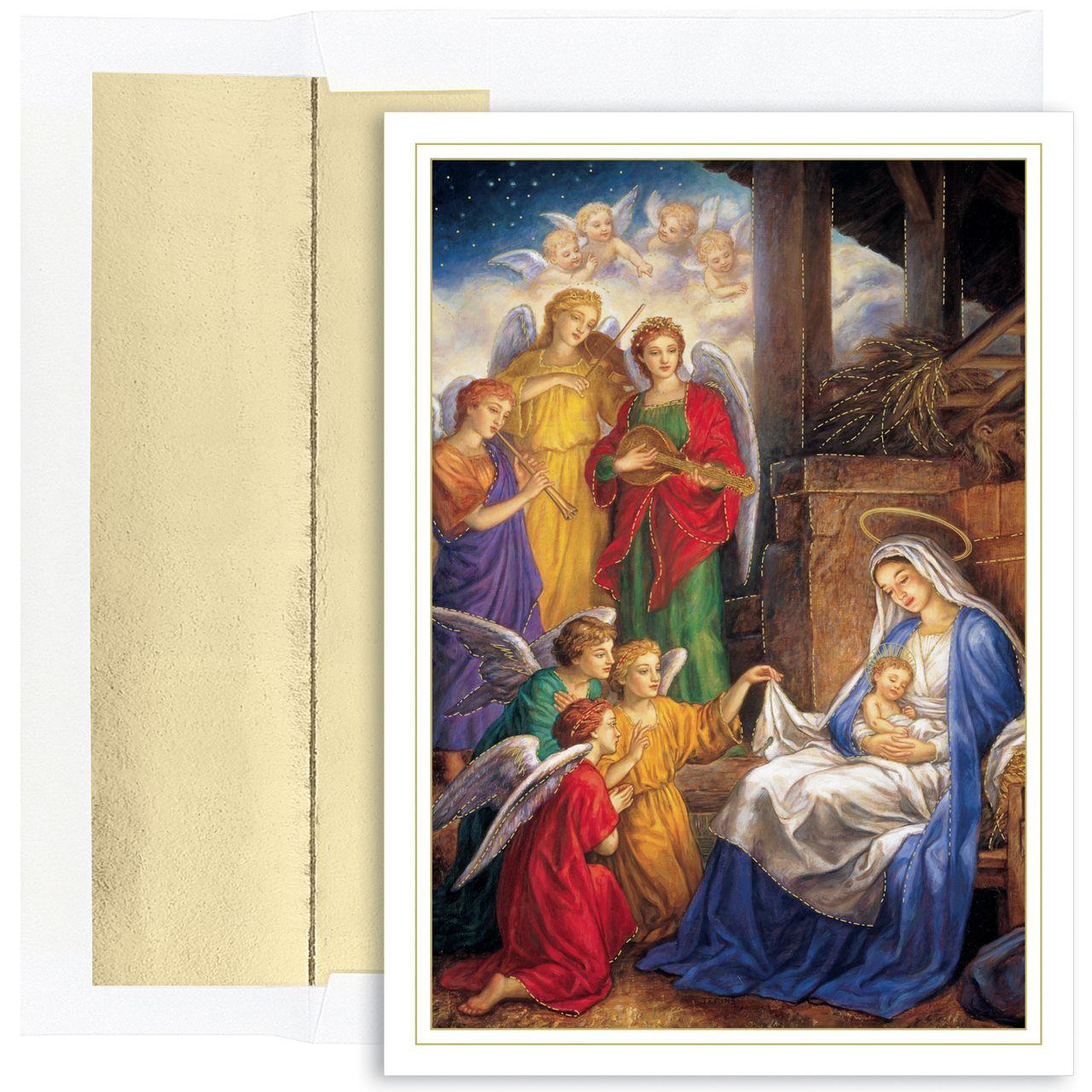 christmas cards boxed religious  idalias salon