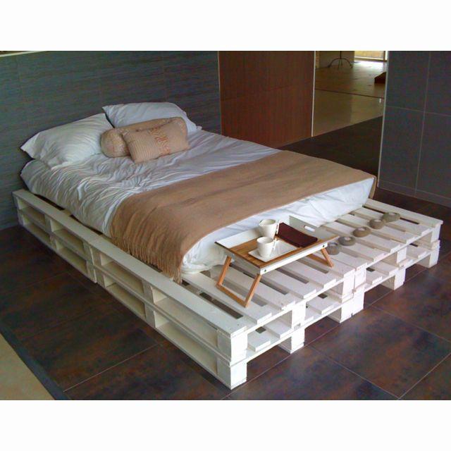 The most interesting and simple bed IDEAS Pinterest Camas - camas con tarimas