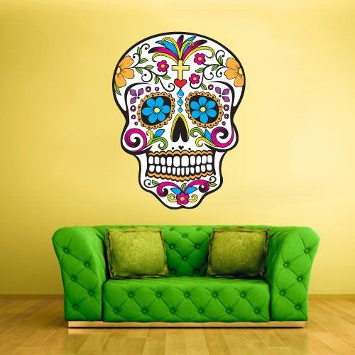 Full Color Wall Decal Mural Sticker Decor Art Beautyfull Cute Sugar ...