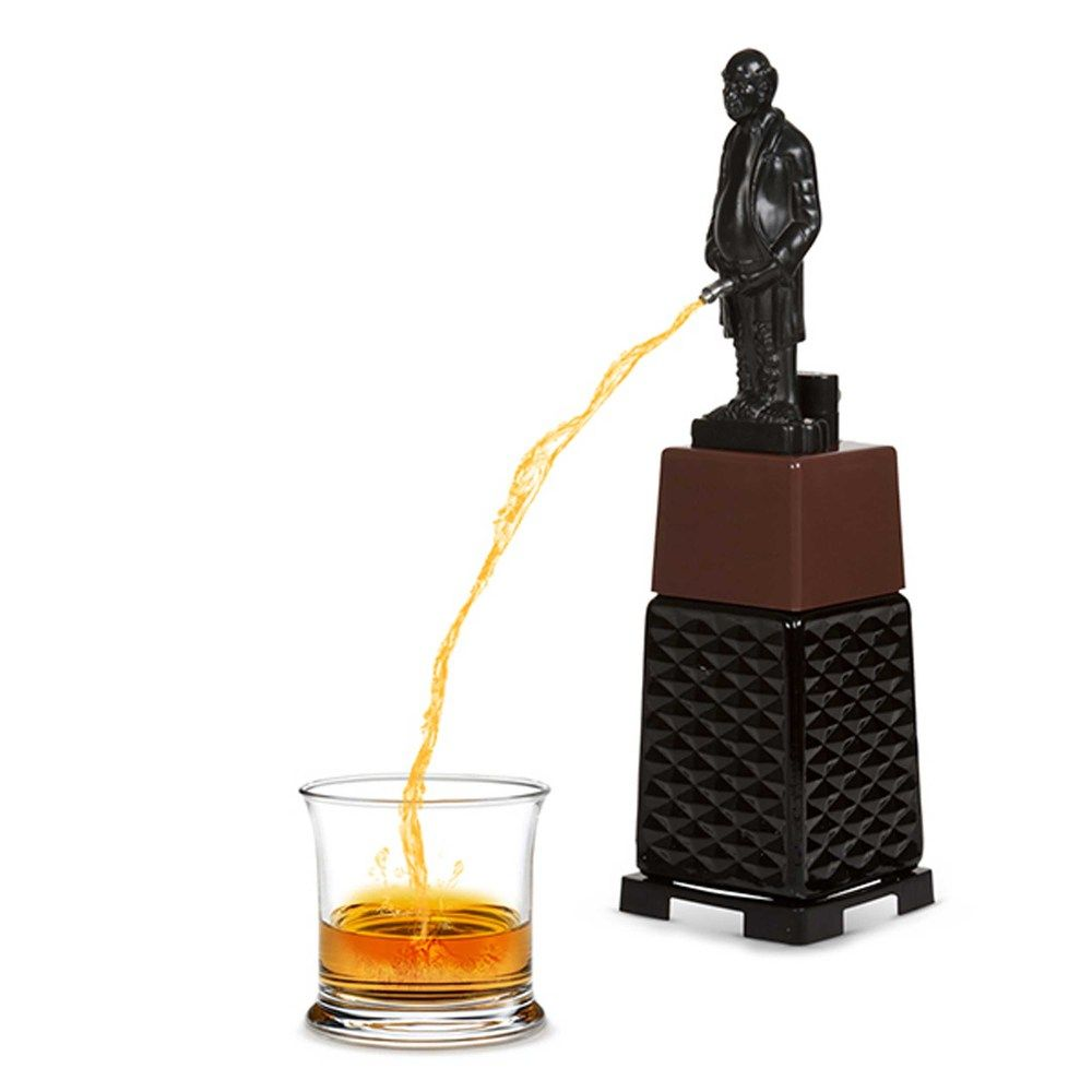 Old People Christmas Gifts: Gifts For Weird People: Old Man Peeing Alcohol Dispenser