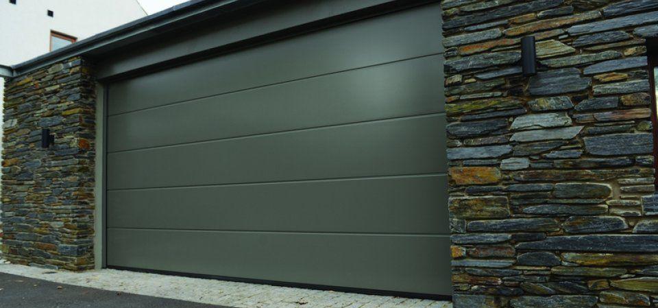 Sectional Garage Doors - Doortec Ltd