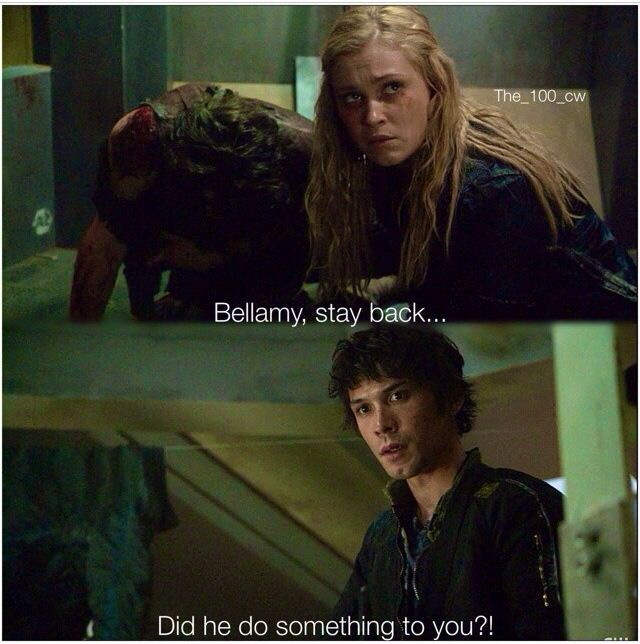 clark and bellamy relationship quotes