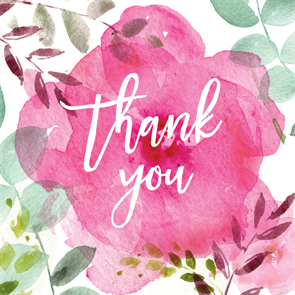 Tickled Pink Thank You Card Template Free Greetings Island Thank You Card Template Free Thank You Cards Thank You Wishes