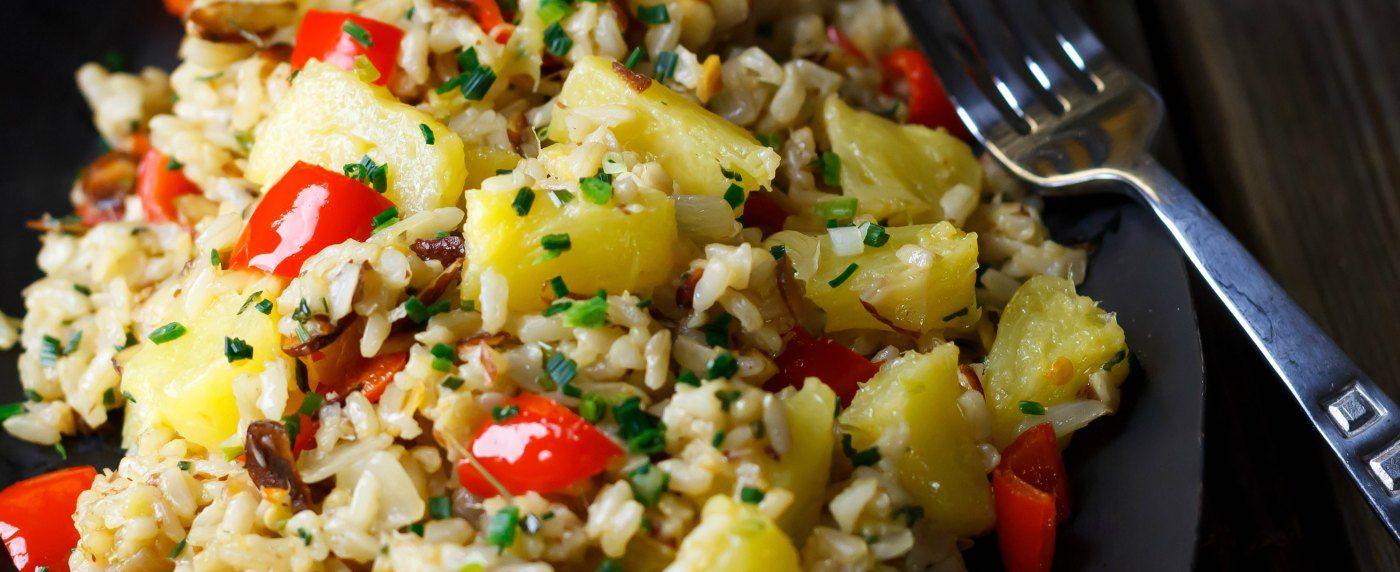 Pineapple Fried Rice via @happy_foodista