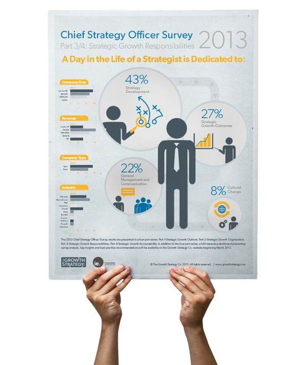chief strategy officer survey infographic series by andrew g herbert via behance dream jobjob descriptionleader - Chief Strategy Officer Job Description