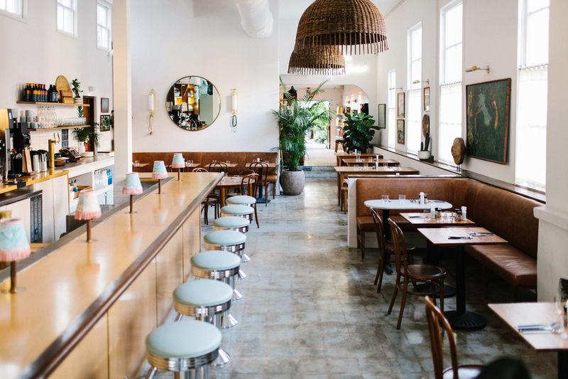 Classic American Diner Redesigns Basic Kitchen Restaurant Interior American Diner