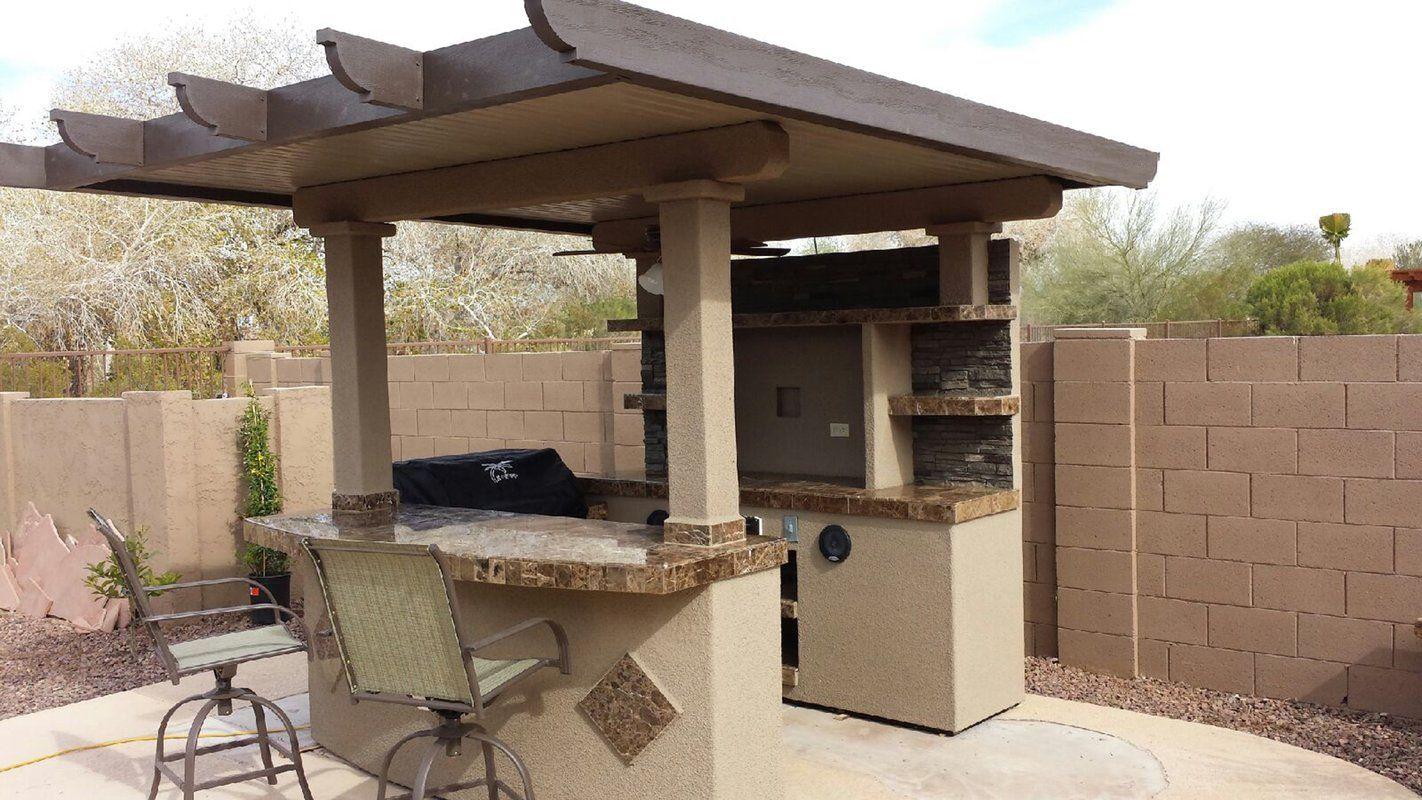 Kokomo Grills St Croix Bbq 72 4 Burner Natural Gas Prefab Kitchen Island Wayfair Outdoor Kitchen Design Outdoor Barbeque Outdoor Kitchen