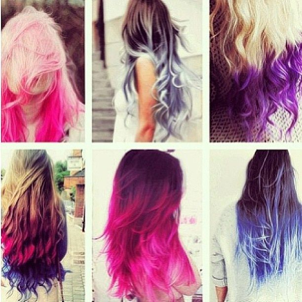 Peachy Pink Black And Blonde Hair Ombre Pink Blonde Black Grey Purple Hairstyle Inspiration Daily Dogsangcom