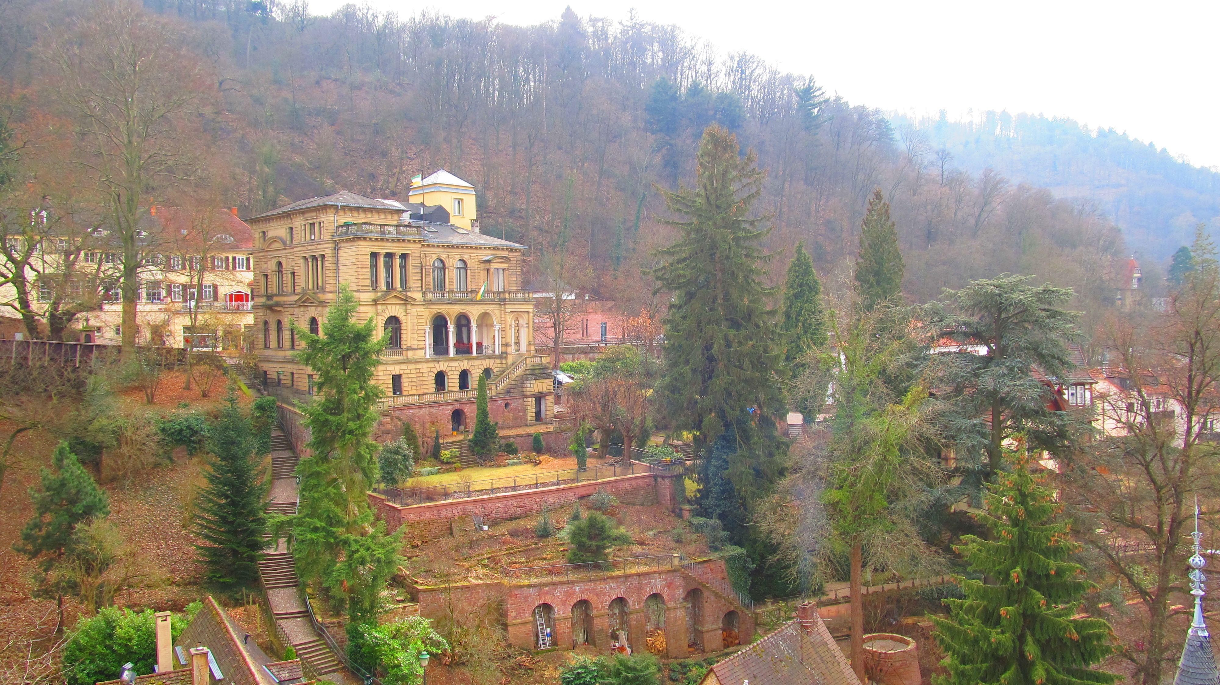 Ausblick von Heidelberger Schloss