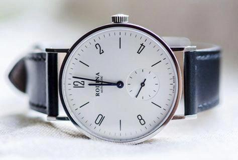 Rodina Automatic White Dial Bauhaus Watch