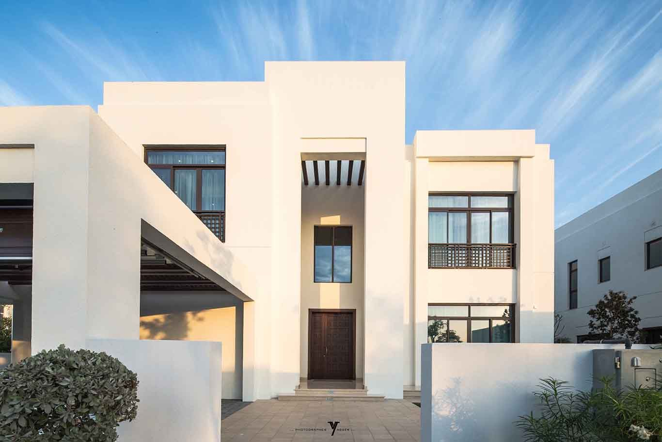 Arabic Modern Villa Modern Roof Design Modern Villa Design Roof Design