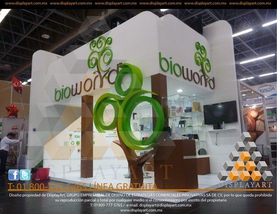 Stand Custom Doble piso DisplayArt 13