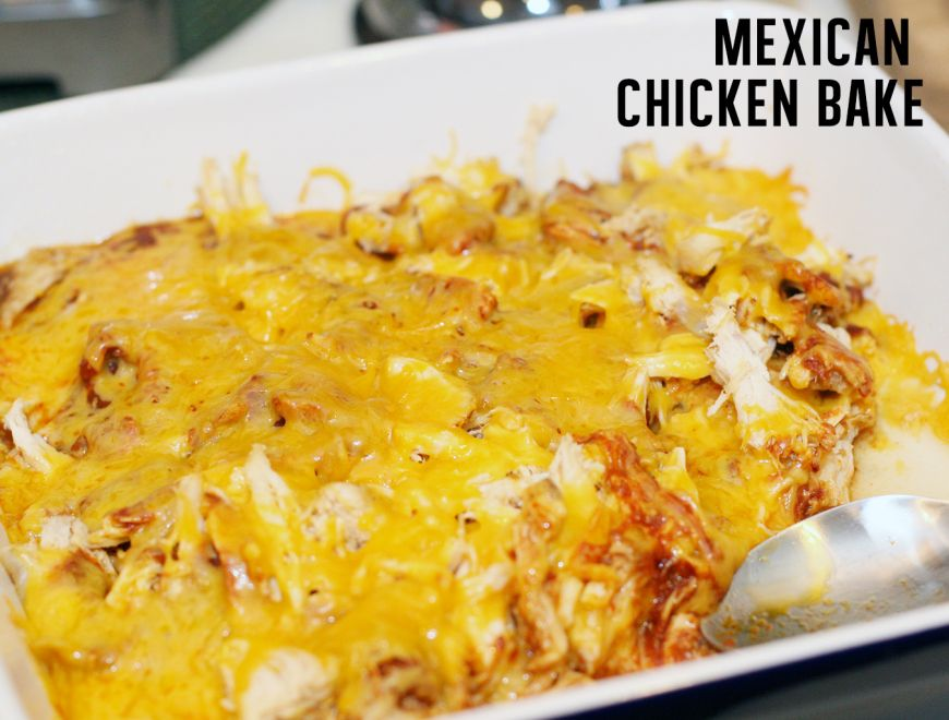 Whats for dinner mexican chicken bake dinner ideas mexicans easy dinner idea mexican chicken bake forumfinder Image collections
